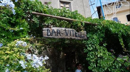 Bar Vitelli: terraza
