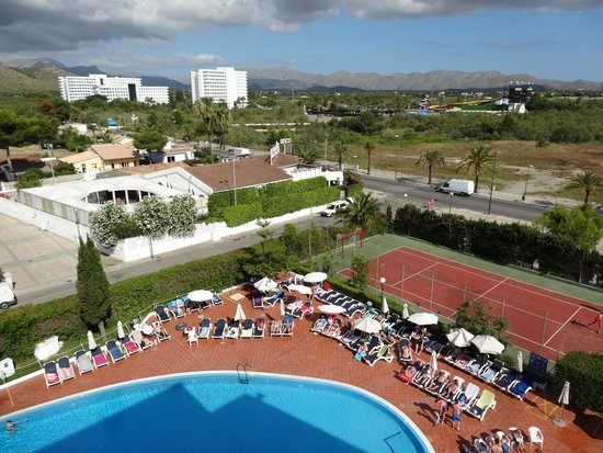 Hotel Aluasoul Alcudia Bay: View from the hotel