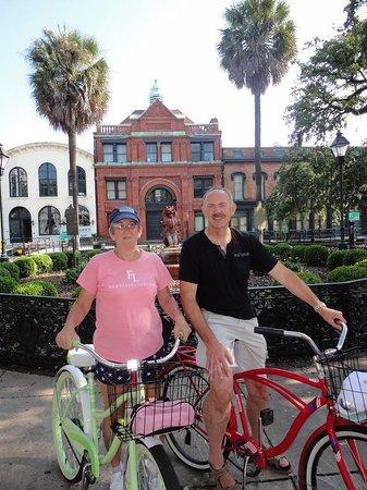 Savannah Bike Tours: Day visitors