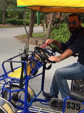 Zoo Miami: I rent it with my friend  , so fun :-)
