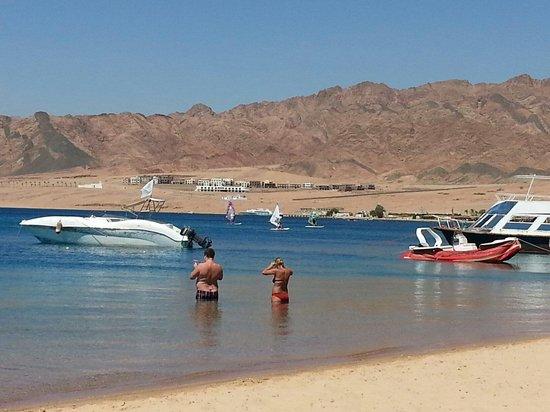 Ibis Styles Dahab Lagoon: The beach of IBIS Style  on Dahab rea sea Egypt