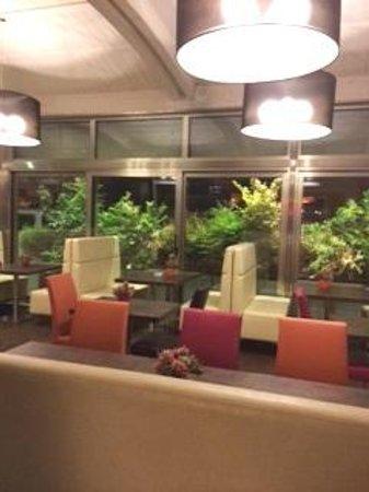 Comfort Hotel Roma Airport Fiumicino : Restaurant.