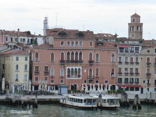 Hotel Gabrielli : View from cruise ship