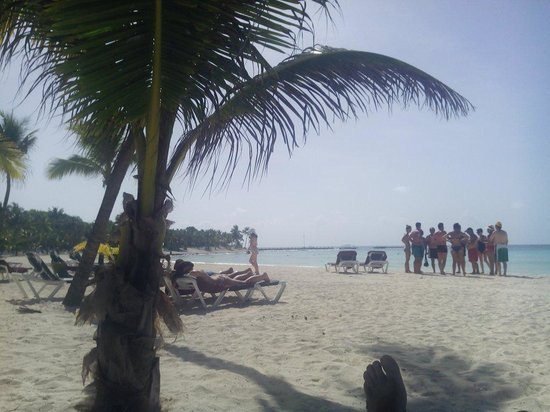 Hotel Barcelo Maya Beach: Spiaggia