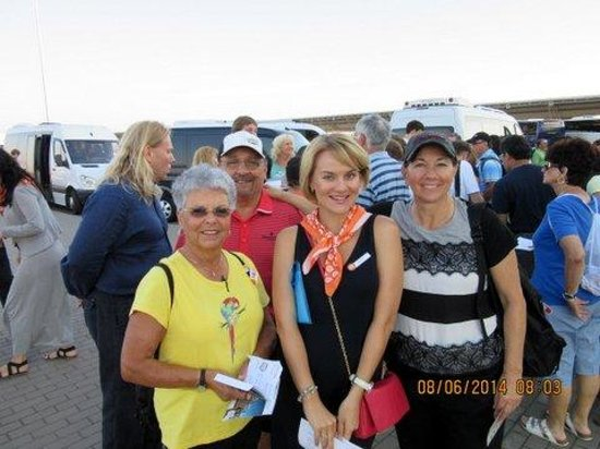SPB Tours : Katya, our super guide in St. Petersburg