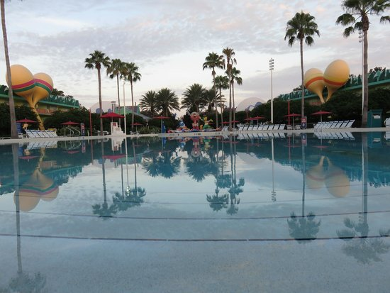 Disney's All-Star Music Resort: Piscina principal