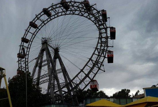 Praterstern: Giant wheel