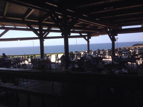 ClubHotel Riu Buena Vista : Restaurante temático y merienda, vistas al mar muy bonito