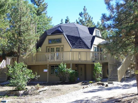 cabin big affordable frontier california lake in bear rentals cabins