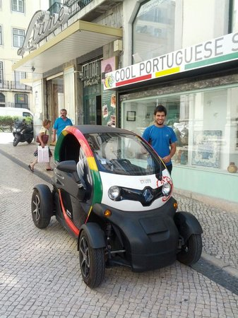 Portuguese Stuff: Zippy little car