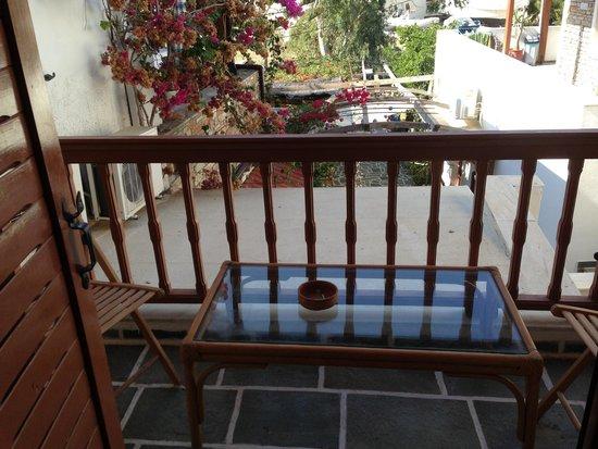 Villa Mata: Vista dal balcone