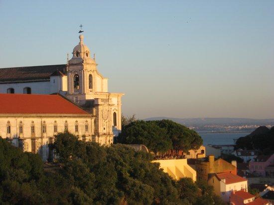 Albergaria Senhora Do Monte : dal balcone della camera al tramonto