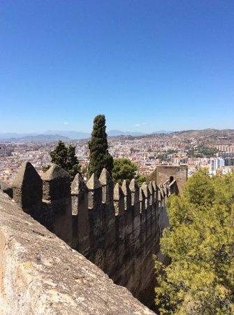 Castillo de Gibralfaro : promenade sur les remparts