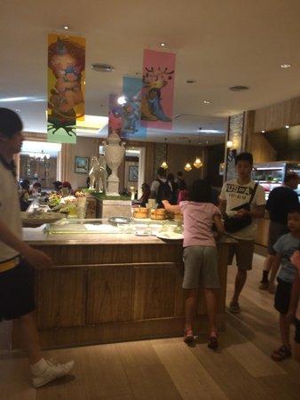 Chateau de Chine Hotel Hualien: Breakfast