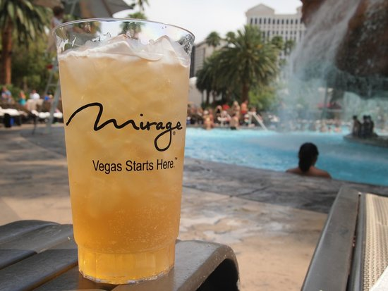 The Mirage Hotel & Casino: it certainly does...