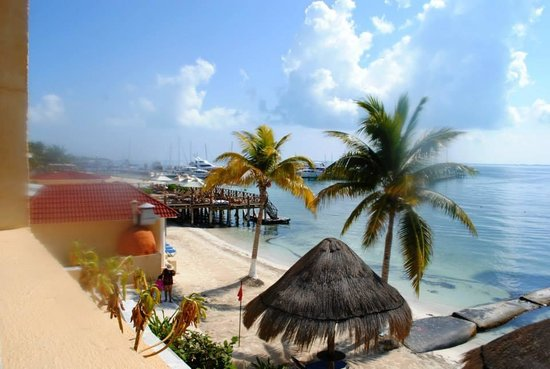 All Ritmo Cancun Resort & Waterpark : Beach view from Balcony
