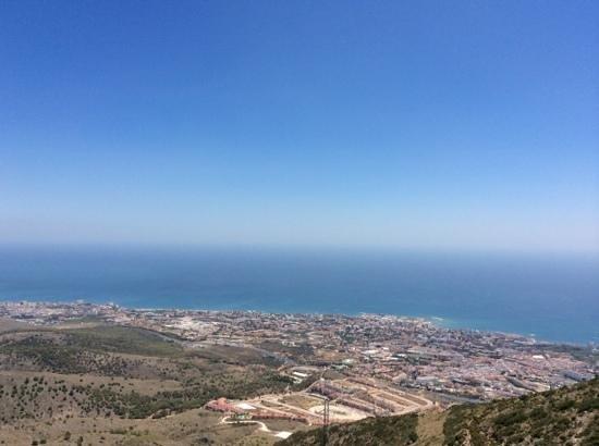 Teleferico Benalmadena : vue de benalmadena
