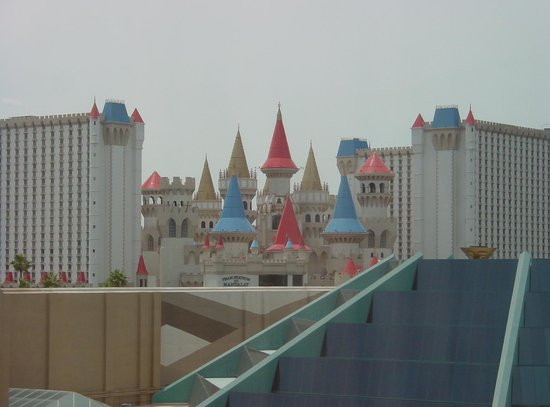 MGM Grand Hotel and Casino : One of our views from the room.