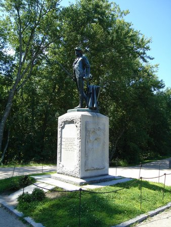 Minuteman Statue at North Bridge 8/8/2014