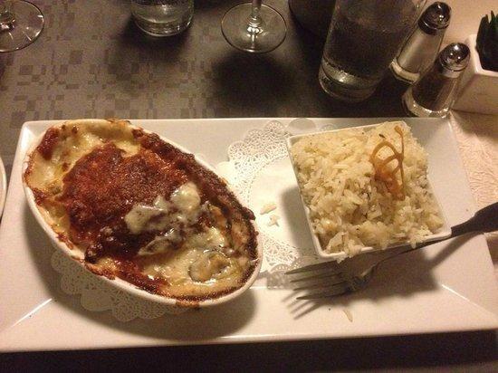 Sunset Cafe : Seafood Au Gratin