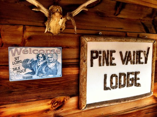 Pine Valley Lodge : Welcome to the PVL!