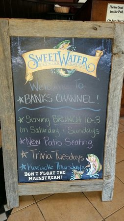 Banks Channel Pub and Grille: Just inside the front door