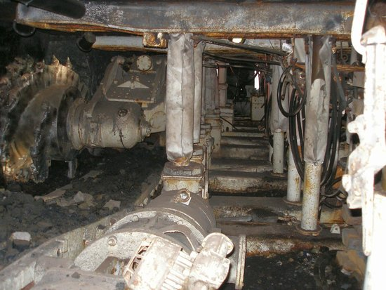 Big Pit:  National Coal Museum: Big Pit Stollennachbau