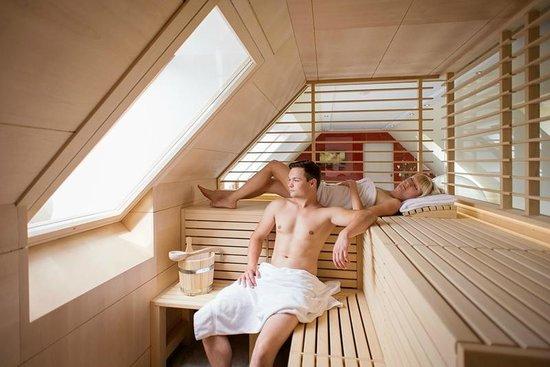 panorama sauna in der wellness suite bild von waldblick pulsnitz tripadvisor. Black Bedroom Furniture Sets. Home Design Ideas