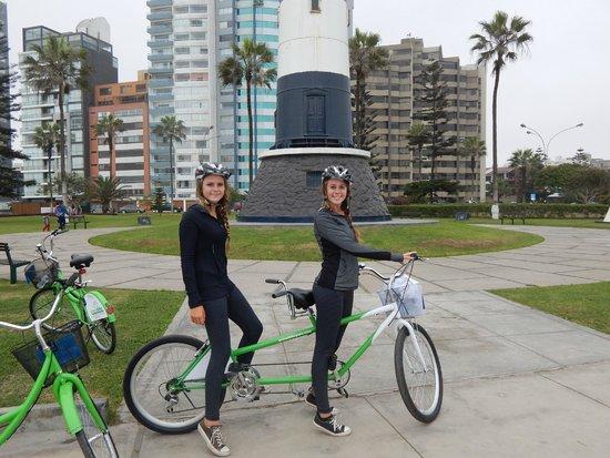 Green Bike Peru -  Day Tours: Tandem bike available