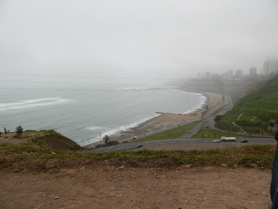 Green Bike Peru -  Day Tours: View of the coast line