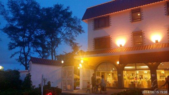 Silvermine Beach Resort: Outside Reception
