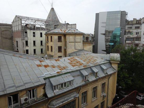 Hotel Carpati Bucuresti: Blick aus dem Fenster