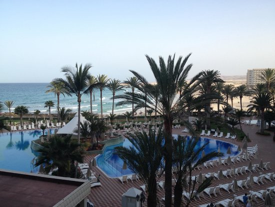 Hotel Riu Palace Tres Islas: View from our room
