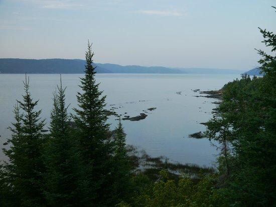 Auberge de la Riviere Saguenay: vue