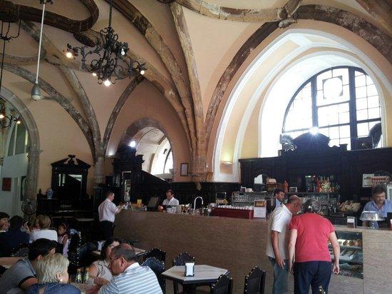 Cafe Santa Cruz : La sala