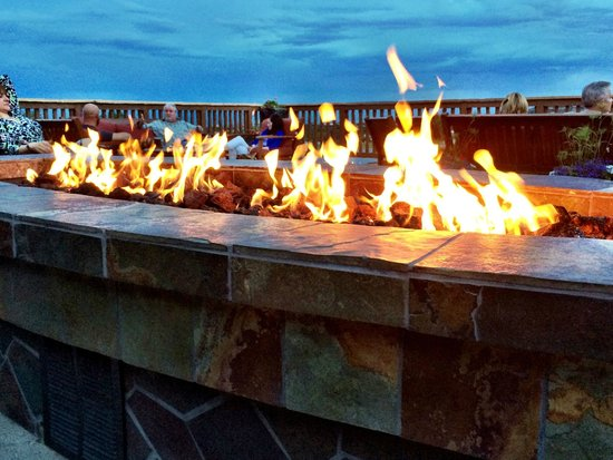 Cheyenne Mountain Resort: Cheyenne Mtn Resort Firepit