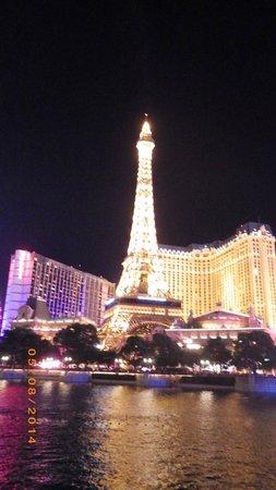 Eiffel Tower Restaurant at Paris Las Vegas : Splendid Eiffel tower