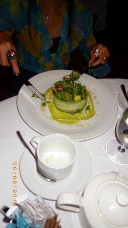 Eiffel Tower Restaurant at Paris Las Vegas : The salad : eatable. Take this and enjoy the view.