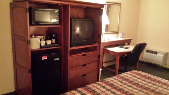 Red Lion Hotel Kelso/Longview : Entertainment unit
