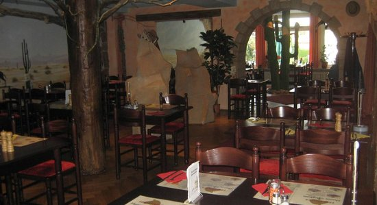Desperados Hotel: Restaurant