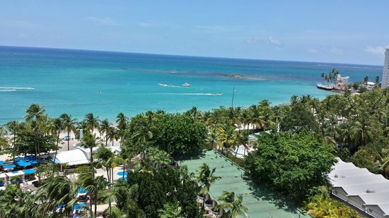 InterContinental San Juan: View from the balcony on the 12th floor