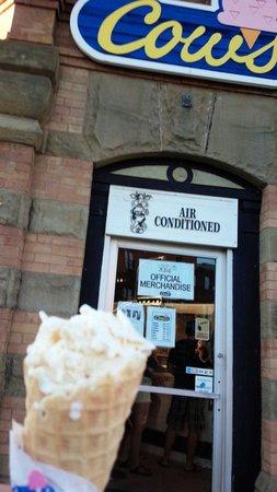 Cows Creamery: smallsize でも満足なボリューム。