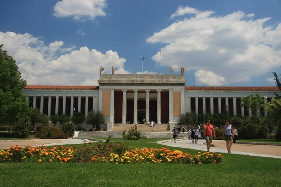 National Archaeological Museum: the museum exterior