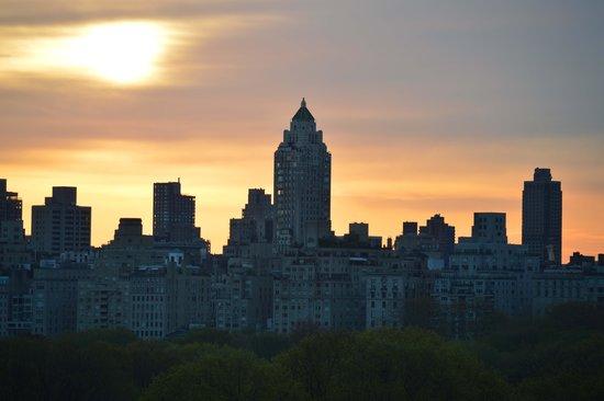 West Side YMCA : Vista desde habitacion sobre Central Park West