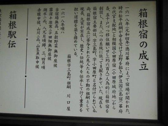 Hakone Ekiden Museum: 箱根の歴史