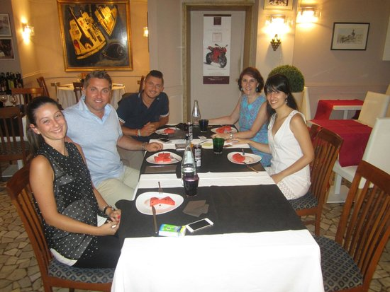 Al Graspo de Ua Restaurant: Un meraviglioso pranzo nel Al Graspo de Ua