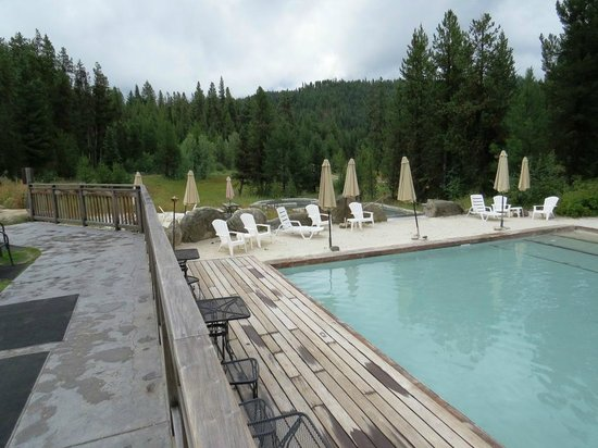 Gold Fork Hot Springs: The large pool