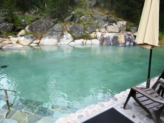 Gold Fork Hot Springs : Lower pools