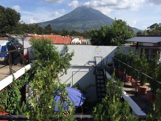 Mananas Hotel: Vista de la terraza