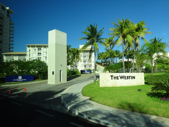 The Westin Resort & Spa, Cancun : Entrance